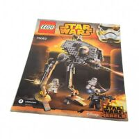 1x Lego Bauanleitung A4 Star Wars Rebels AT-DP Läufer 75083