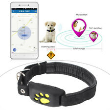 GPS GSM Dog Cat PET Collar Anti-lost Locator Tracker Mini Personal Waterproof ha