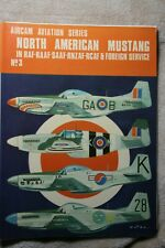P-51 Mustang in RAF & other foreign Service ARCO AIRCAM # 3 Very Good Condition