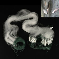 1 X Fishing Net with Float Monofilament  Gill Fishing Network Fish Trap