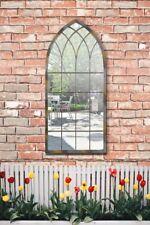 Somerley Rustic Arch Garden Mirror 114 x 50 CM
