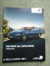 BMW Servizio Libro ORIG 3 SERIE NUOVO vuoto F30//F31//F34//F35//F80 M3