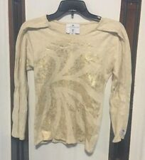 Adidas Official LONDON 2012 Team GB Women's Stella McCartney Gold Lion Top UK 8