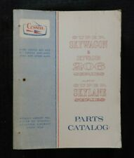 GENUINE 1964-69 CESSNA 206 SUPER SKYLANE SKYWAGON AIRPLANE PARTS MANUAL CATALOG