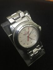 Swiss Air Force Watch,Date,lovely Design White Face Silver Dail/Bezel,Genuine