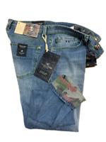 Jeans Tramarossa Mod. LEONARDO BOTTONI - Denim Soft confort print - Uomo
