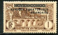 TIMBRE COLONIES FRANCAISES AFRIQUE EQUATORIALE FRANCAISE NEUF N° 1 **