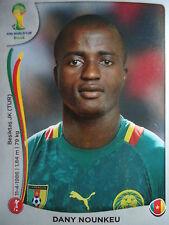 Panini 94 Dany Nounkeu Kamerun FIFA WM 2014 Brasilien