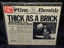 Jethro Tull Thick As A Brick SEALED 1985 JAPAN MFSL 1/2 SPEED VINYL LP