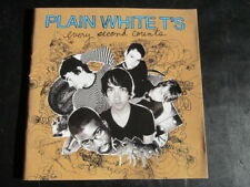 Plain White T's - Every Second Counts: 2007 Hollywood CD Album (Pop Rock, Punk)
