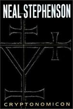 Cryptonomicon by Neal Stephenson (1999, Hardcover) 1 Edition HC with DJ V.GOOD