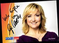 Anja Koebel MDR Autogrammkarte Original Signiert ## BC 52728