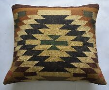Hand Woven Cushion Cover Multi Coloured Home Decorative Cushion Cover 47x55cm