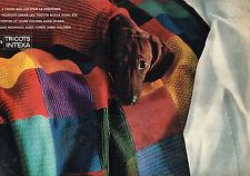 PUBLICITE ADVERTISING 124  1963  BAN-LON  tricots INTEXA  ( 2p)