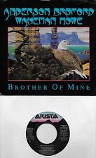 ANDERSON BRUFORD WAKEMAN HOWE Brother Of Mine  promo 45 with PS  YES  ROGER DEAN