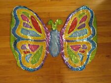 Vintage 1990s Butterfly Mylar Balloons-Insects-Caterpillar-Flying-3 feet/ft