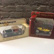 2 X Matchbox Models Of Yesteryear Y- 9 Simplex 50 Y- 8 1945 MG - TC