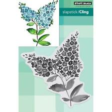 Penny Black Brushstrokes Cling Stamps - Lilacs 40-592