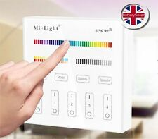 Panel Táctil MiLight Control Remoto (B4) para uso con RGB-DW (iluminación RGB-CCT)