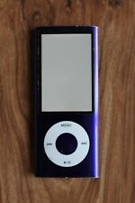 Apple iPod nano 5th Generation Purple A1320 NOT WORKING Bad Screen? AS IS