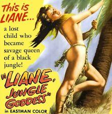 Liane Jungle Goddess DVD 1956 Erotic Adventure Movie Marion Michael Hardy Kruger
