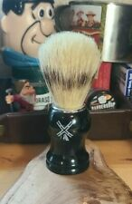 Van Der Hagen Natural 100% Boar Hair Bristle Shave Brush never used