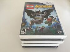 LEGO Batman: The Videogame (Nintendo Wii, 2008) Wii NEW! Includes movie!!!