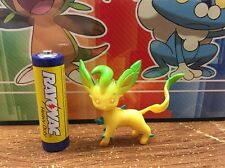 4th Generation pokemon plastic figure Leafeon 1-2 inches tall NEW in U.S