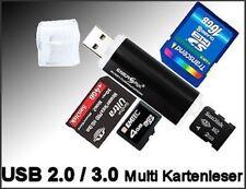 USB Speicherkarten Kartenadapter Kartenleser Lesegerät für Speicherkarten