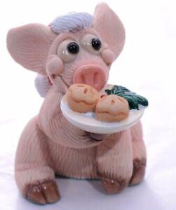 Collectable world-piggin'*my piggin' Pie for Santas*no: 14059rare