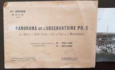 PANORAMA DE L OBSERVATOIRE PO.C (Bois de belle croix/ a l'est fort de malmaison