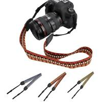 Single Shoulder Camera Sling Neck Belt Strap For DSLR Digital SLR Quick Rapid SP
