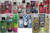 Bath & Body Works Shower Gel Cream Fragrance Mist Lot Set of 3 u pick scent