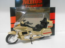 HONDA GOLD WING MOTO BIKE MITOS DE DOS RUEDAS WELLY 1/18