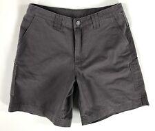 "Patagonia 7"" Stand-Up Shorts Womens sz 8 gray outdoor hiking khaki 57761 $69"