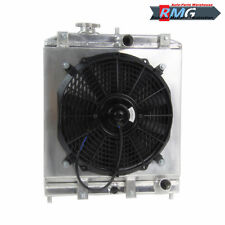 Aluminum Radiator+Shroud Fan FOR 1992-2000 Honda Civic EK EG 3Row 93 94 95 96 99
