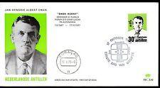 Dutch Antilles - 1973 Jan H.A. Eman Mi. 273 clean unaddressed FDC