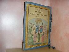 Histoire du costume féminin français par Giafferri 36 planches en couleurs mode