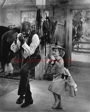 SHIRLEY TEMPLE AND BILL BOJANGLES ROBINSON 8x10 CLASSIC VINTAGE PHOTO DANCING