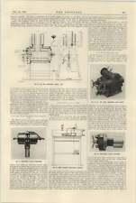 1925 crankless motores Ltd Compresor de aire regulador James Gordon