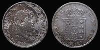 pci1180) Napoli Regno delle Due Sicilie Ferdinando II Piastra 120 gr 1857