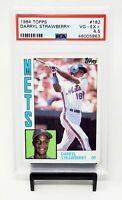 1984 Topps RC NY Mets DARRYL STRAWBERRY Rookie Baseball Card PSA 4.5 VG-EX +
