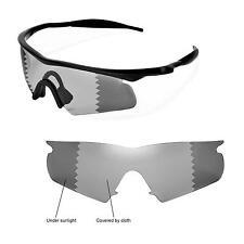 New Walleva Polarized Transition/Photochromic Lenses For Oakley M Frame Hybrid