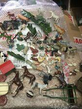More details for britains ,charmens, timpo vintage metal, lead, diecast farm animals. job lot.