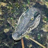 Künstliche Krokodil-Alligatorkopf der Schaum Köder für Pool-Teich-Garten sc X9P1