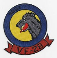 "US Navy WWII Fighter Squadron VF-28 ""Wolves"" patch"