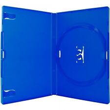 400 Amaray DVD Hüllen 1er Box 14 mm für je 1 BD / CD / DVD blau
