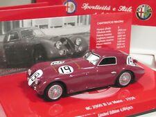 1/43 Minichamps Alfa Romeo 8C 2900 B Le Mans (1938) diecast
