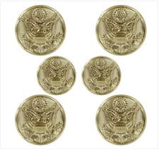 Genuine U.S. Army Button Set: Eagle 4X30 Ligne And 2X25 Ligne