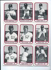 1981 TCMA Minor League Baseball Waterbury Reds Team Set Missing #15 GARY REDUS